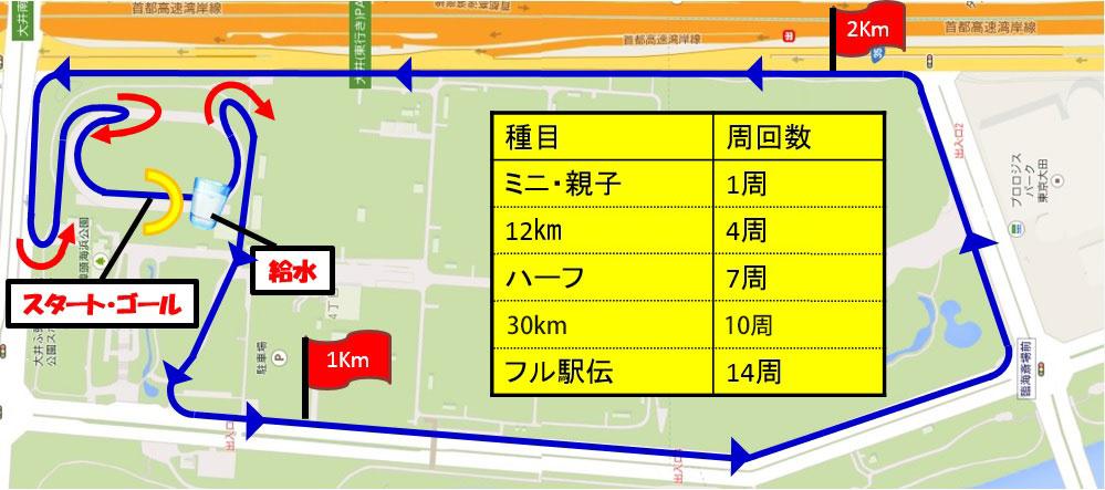 品川マラソンフェスタ_map