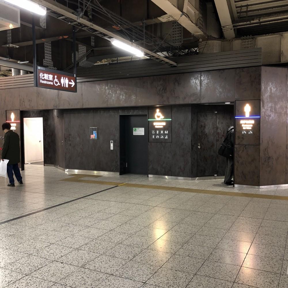 トイレ 上野 駅